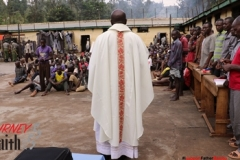 Mass in Muranga Prisons
